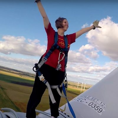Want to Climb a Wind Turbine?